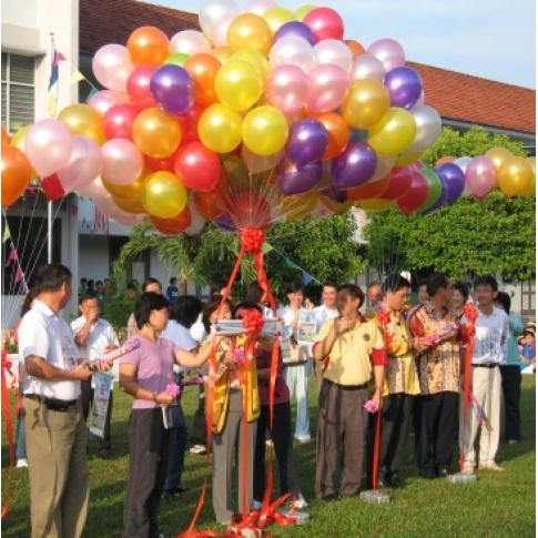 Baloons louching